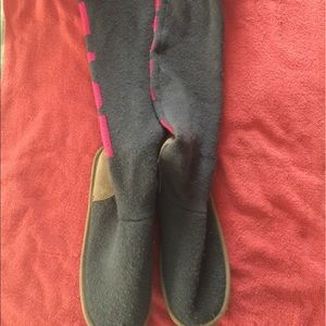 VS PINK Sweater Boots