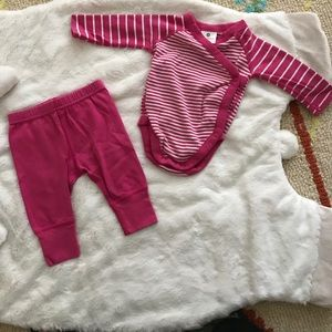 Hanna Andersson Other - EUC Hanna Andersson Onesie and Leggings Set