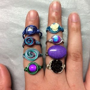 Jewelry - Mystery hand crafted ring!!! Any size (: