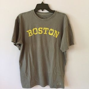 Life is Good Tops - Boston Strong tee