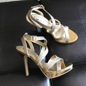 FIONI Clothing Shoes - Strappy Heels