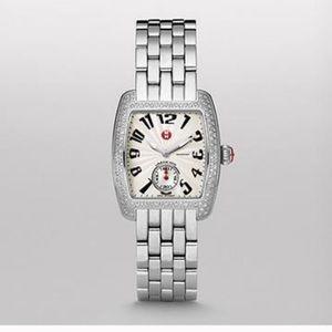 Michele Accessories - Authentic Michele $2200 diamond urban mini watch