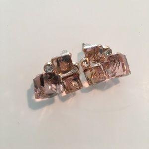 💕💕Pink Crystal Earrings