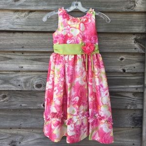 Jayne Copeland Other - Pretty pink floral dress