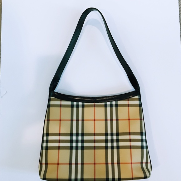 564042a57c02 Burberry Handbags - Burberry Nova Check Coated Canvas Canonbury Bag