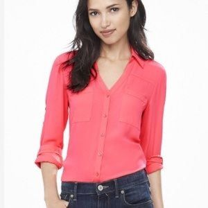Express Portofino Shirt in Pink