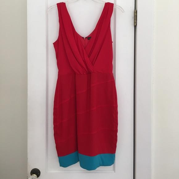 Nordstrom red cocktail dress