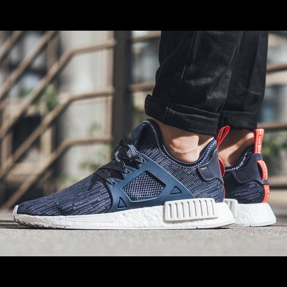 meet 56be1 437e4 Adidas NMDs XR1s in Unity Blue