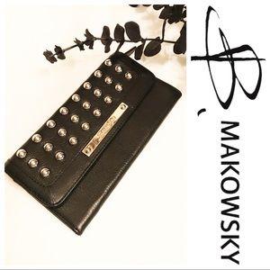 b. makowsky Handbags - NWOT B. Makowzky Leather Wallet
