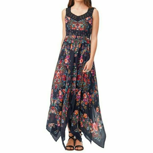 0677f3fa8f Bila Dresses | Handkerchief Hem Maxi Dress | Poshmark