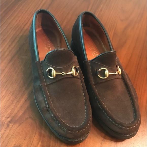 c6b46a9d8a8 Gucci Shoes - Vintage Gucci Classic Horse bit Loafer