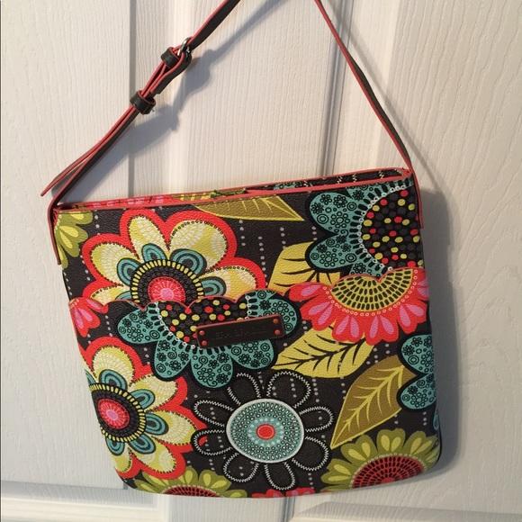22 off vera bradley handbags vera bradley slim hipster for Vera bradley bathroom bag