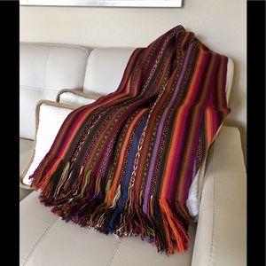 Peruvian hand made wool wrap