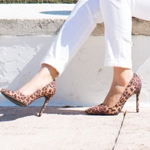 Sam & Libby Shoes - Leopard print heels