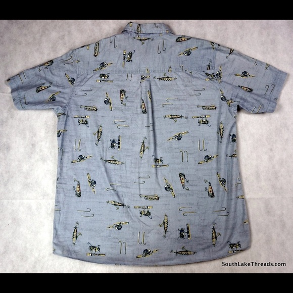 78 off woolrich other woolrich button down s s pocket for Button down fishing shirts