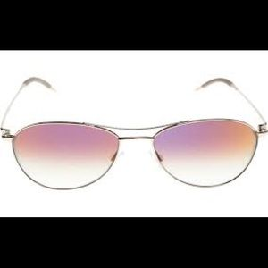Oliver Peoples Accessories - Oliver Peoples Aero Sunglasses with Purple Tint