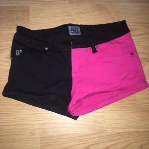 Tripp NYC split leg shorts