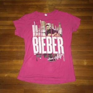 Urban Outfitters Tops - Justin Bieber Believe Tour Merch