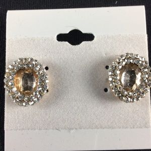 Bling Stud Earrings