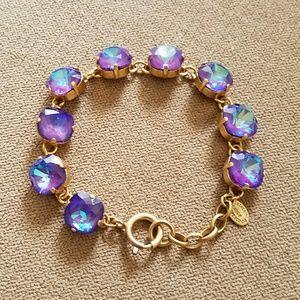 Catherine Popesco Jewelry - Large stone bracelet - Ultra Purple
