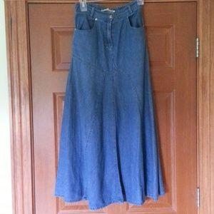 Southwest Canyon Dresses & Skirts - Western Style Denim Skirt