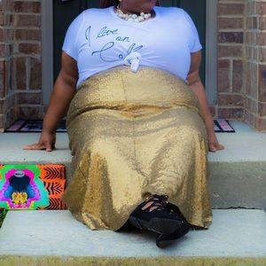 Lane Bryant Dresses & Skirts - Lane Bryant sequined skirt