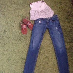 Hollister Denim - Hollister distressed jeans