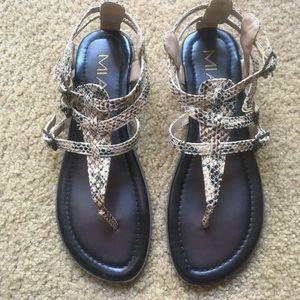 MIA Shoes - Mia Sandals, size 7, Like new