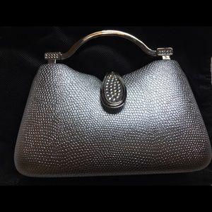 Handbags - Silver Evening Bag