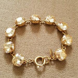 Catherine Popesco Jewelry - Large stone bracelet - Champagne