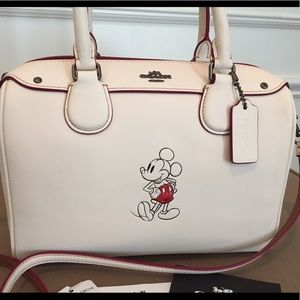 NEW Coach x Disney Mini Bennett Satchel