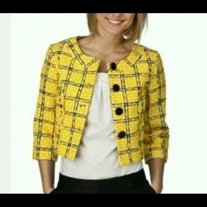 Merona Jackets & Blazers - Merona Yellow and Black Blazer