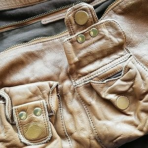 Linea Pelle Handbags - Authentic Linea Pelle Leather Hobo Bag