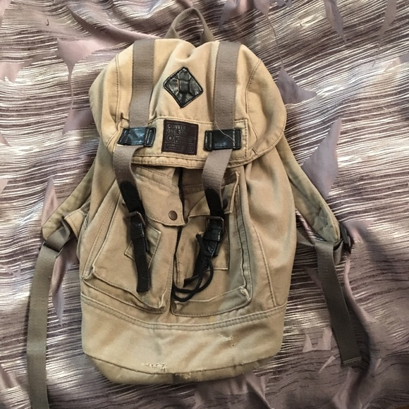 Converse Bags   One Star Canvas Backpack   Poshmark