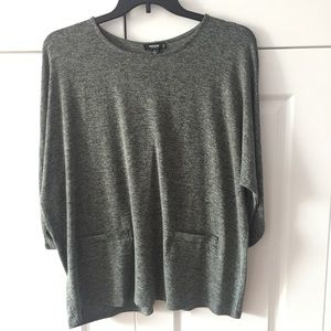 Premise Green & Gray Tunic