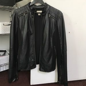 Francesca's Collections Jackets & Blazers - Leather Jacket
