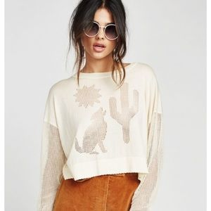 Wildfox Sweaters - Wildfox Night Howl Mila Sweater NWT Medium