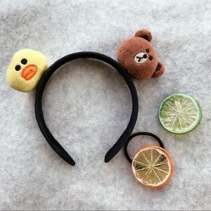 Cute Hair Accessory Set 🍋🍊