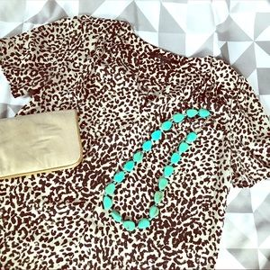 19 Cooper Tops - 19 Cooper leopard print blouse Small boutique