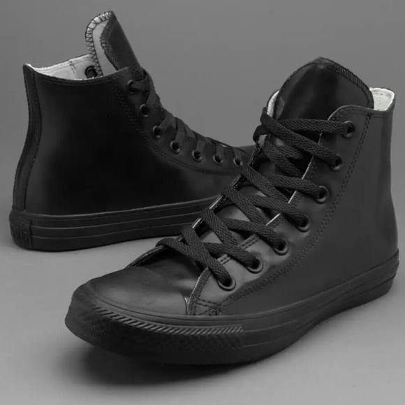 NWT Converse Chuck Hi Top Black Rubber Shoe Boot NWT