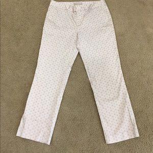 Banana Republic Pants - 😎Banana Republic summer patterned Ryan Fit pants