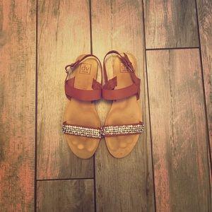 Dolce Vita bejewled sandals