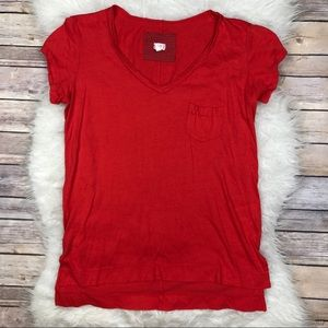 Anthropologie Tops - Anthropologie t.la Catalina Red Tee