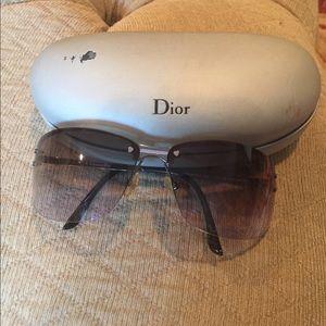 Dior Accessories - Authentic Dior Wrap around frame sunglasses