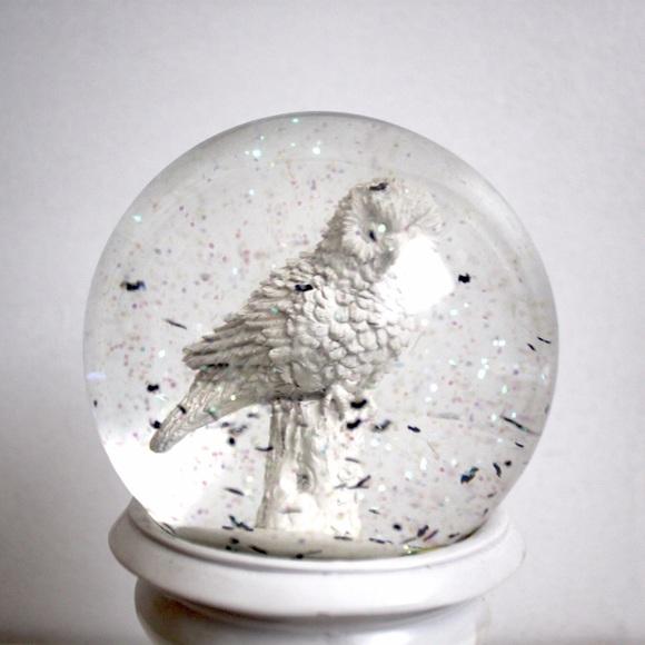 Urban Outfitters Other Halloween Decor Owl Snow Globe Poshmark