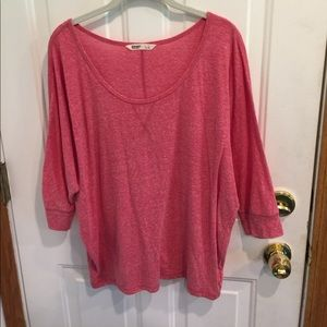 Old Navy Scoop Neck Relaxed Top Dolman Sleeves