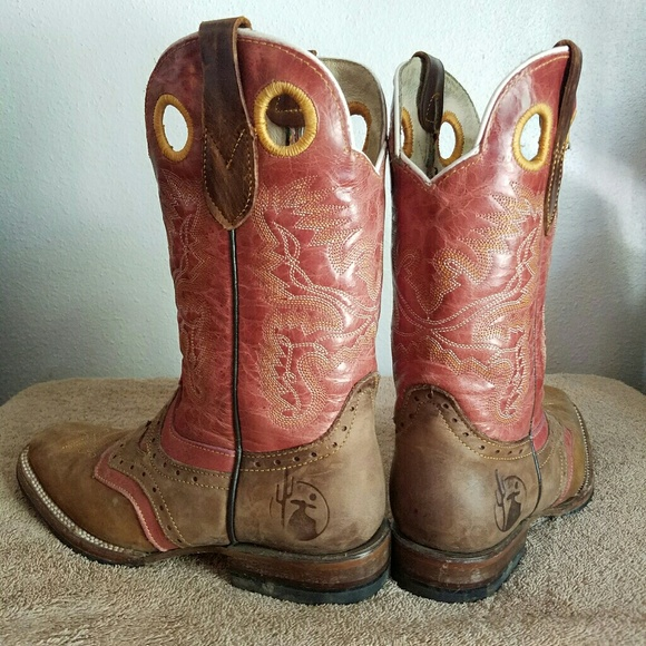 Texan Longhorn Cowgirl Boots