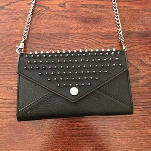 Rebecca Minkoff Handbags - Rebecca minkoff wallet on a chain with studs