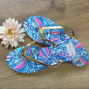 Lilly Pulitzer for Target Shoes - LILLY PULITZER for Target Print Flip Flops - 8