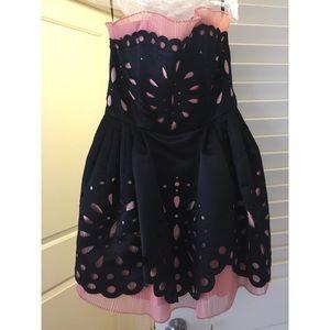 Betsey Johnson Dresses - BETSEY JOHNSON Dolly Eyelet Ball Gown   Dress 💕 840c0b142